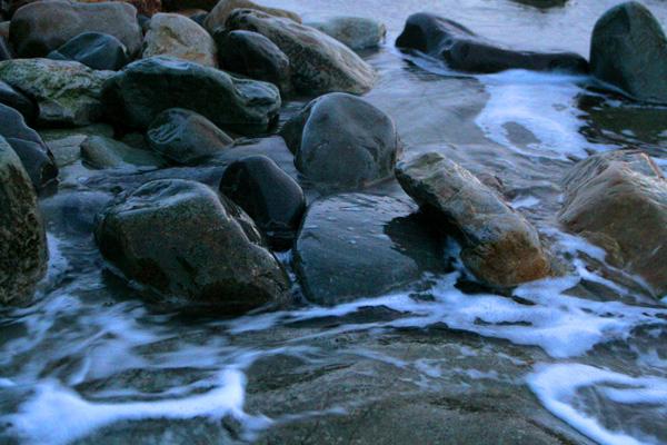 Mars 2009, slik havet skal være.