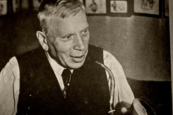 Peter Birger Holte, foto fra boken.
