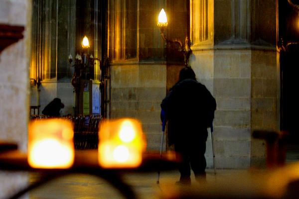 Fra kirken Saint-Eustache, Paris, oktober 2008