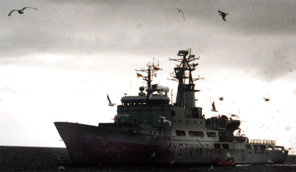 "Kystvaktskipet ""Andenes"", september 1994"
