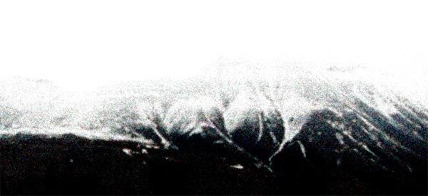 Landskap ved Longyearbyen, september 1994